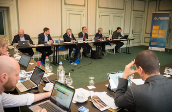 The 12th EUF the Council of Rectors took place in Ghent