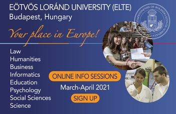Info session: Study mathematics at the leading university of Hungary