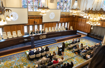ELTE law students won in the Hague