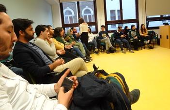 'Speak, Influence and Lead' - workshop of the International Student Ambassadors