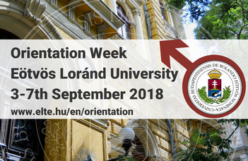 Orientation week for International Students 2018/2019 Autumn