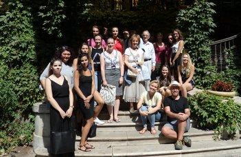 International summer at ELTE