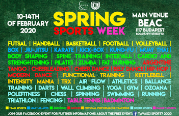 Spring Sports Week