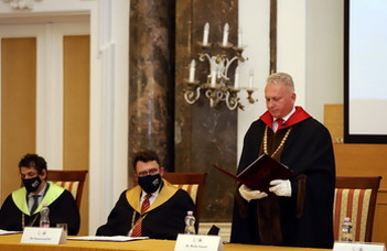 Honorary doctors awarded at ELTE