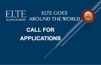 """ELTE is looking for international speakers for """"ELTE goes around the world"""""""