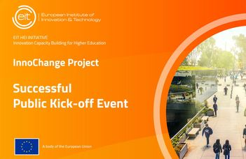 EIT HEI InnoChange Has Had a Successful Project Launch Meeting