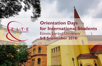 Orientation Days for International Students 2016/2017 Autumn