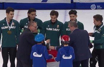 Csaba Burján wins another gold medal