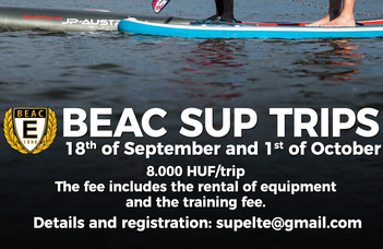 Join BEAC's first SUP trips