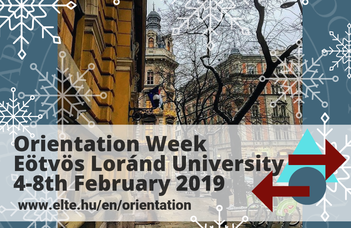 Orientation Week for International Students 2018/2019 Spring