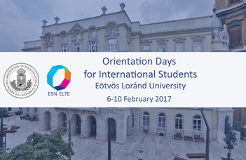 Orientation Days for International Students 2016/2017 Spring