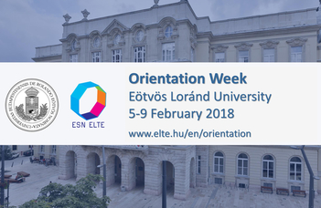 Orientation Week for International Students 2017/2018 Spring