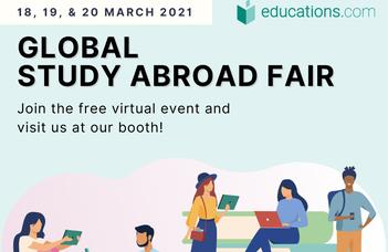 Global Study Abroad Fair: A Virtual Event - 18-20 March 2021