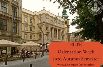 Orientation Week for International Students 2020/2021 Autumn