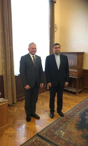 The ambassador of Iran visited ELTE