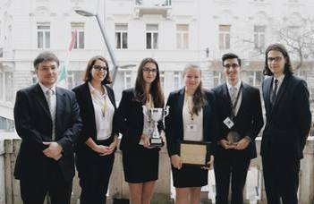 ELTE Law School's team defended its title as champion