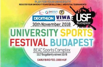 University Sports Festival Budapest 2018 – Let's move together!