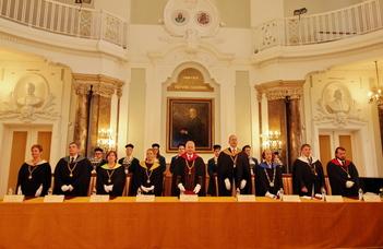 Nobel laureate physicist recieves honorary doctorate at ELTE
