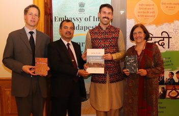 The exhibition of the India Library's new volumes