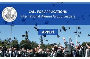 Call for applications - International Alumni Group Leaders