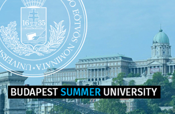 ELTE Budapest Summer University