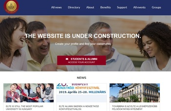 New ELTE Alumni Organization Website