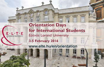 Orientation Days for International Students 2015/2016 Spring