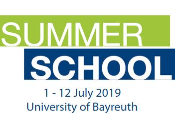 Bayreuth International Summer School 2019