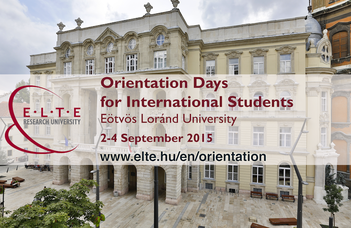 Orientation Days for International Students 2015/2016 Autumn