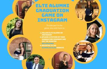 ELTE Alumni Graduation Game on Instagram