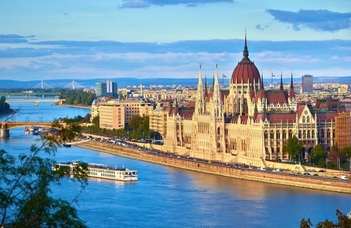 Famous sights in Budapest