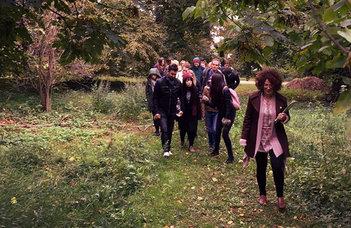 Grape harvest festival with ELTE international students