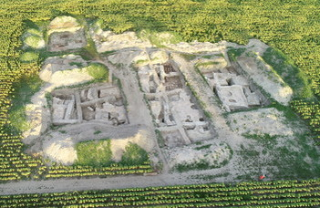 Ancient baths and treasures found in Komárom by archaeological team led by the Dean of the Faculty of Humanities