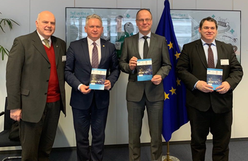 CELSA leaders visit Brussels