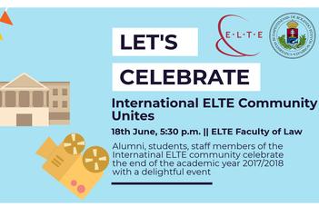 International ELTE Community Unites