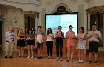 ELTE Summer University of Hungarian Language and Culture was a success in 2018