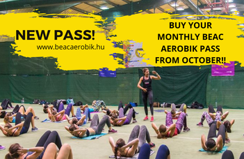 New BEAC AEROBIK monthly pass
