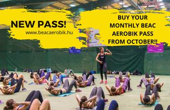 New BEAC AEROBIK monthly pass