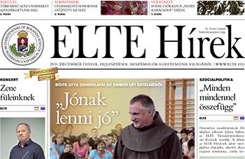 ELTE Hírek –2016. december