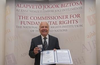 Kitüntették az ELTE Alumni Alapítvány egyik alapítóját