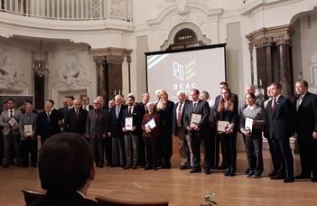 BEAC díjazottak a 120. emlékéven