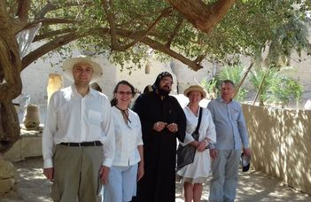 Oktatók Erasmus+-szal Kairóban