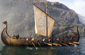 Poláros viking iránytű a szemben
