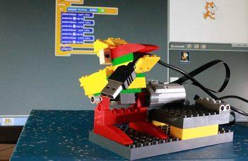 Lego-robotokkal a gyermekek fejlesztésért