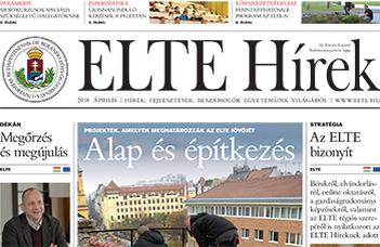 ELTE Hírek –2018. április