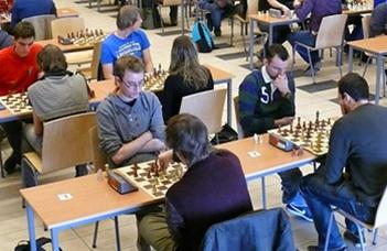 Az élen az ELTE csapata a sakk MEFOB-on