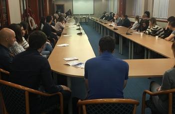 Meteorológus alumni találkozó