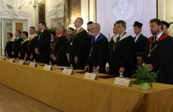 Az ELTE Szenátusának ünnepi közgyűlése