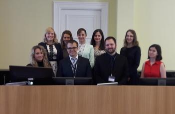 Magyar sikerek a dániai jogi versenyen