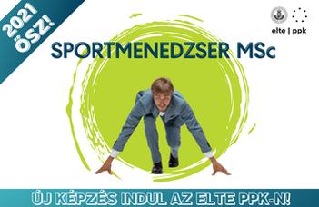 Sportmenedzser mesterszakot indít az ELTE